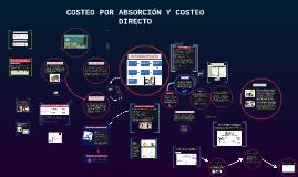 COSTEO POR ABSORCIÓN Y COSTEO DIRECTO