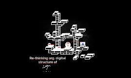 Organigrama para gabinete digital de