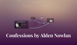 Confessions by Alden Nowlan