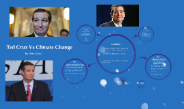 Ted Cruz Vs Climate Change