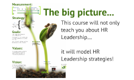 Growing an appreciation for HR Leadership