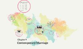 Contemporary Marriage