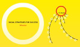 SOCIAL STRATEGIES FOR SUCCESS - 6 & 7 U.A.