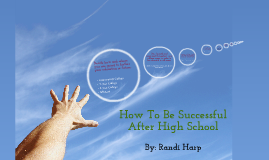 How To Be Successful After High School