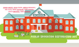 Public Education Restoration Act