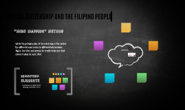 DIGITAL CITIZENSHIP AND THE FILIPINO PEOPLE