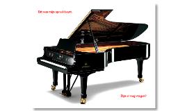 Spreekbeurt groep 6a over Piano