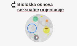 Biološka osnova seksualne orijentacije