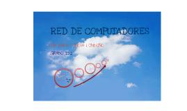 RED DE COMPUTADORES