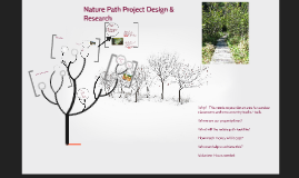 Nature Path Project Design & Research