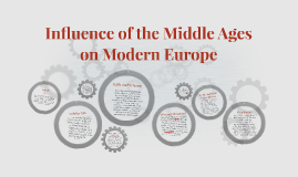 Influence of the Middle Ages on Modern Europe
