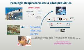 Tema 5. Patología Respiratoria en la edad Pediátrica