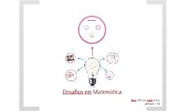 Desafios de Matemática