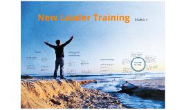 CR New Leader Training (Mod 4)