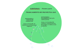 AUDITORIAS  -  Primera parte