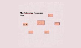 Ms. Folkening - Language Arts