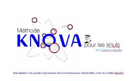 Copy of KnoVA pour les knuls