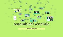 Assemblée Générale 2016