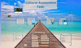 Cultural assment task: