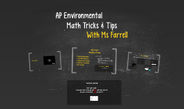 AP Math Tricks & Tips