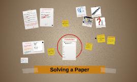 Solving a Paper