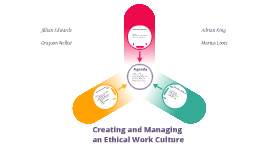 Copy of Ethical Work Culture