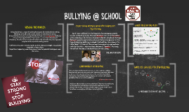 Copy of BULLYING AT SCHOOL