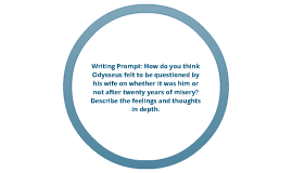 Odyssey Writing Prompt
