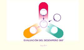 EVALUACION DEL DESEMPEÑO 360°