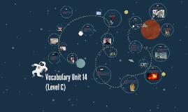 Vocabulary Unit 14 (Level C)