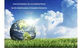 Licentiate-Internal Seminar