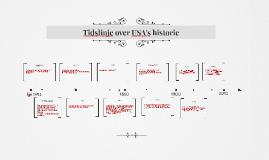 Copy of Tidslinje over USA's historie