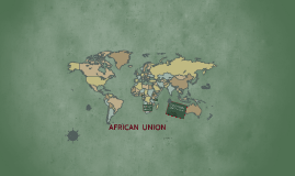 Copy of AFRICAN  UNION