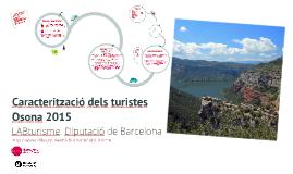 Copy of Perfil turistes Osona 2015