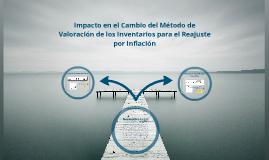 Impacto en el Cambio de Metodo de valoración del Inventario para el Reajuste por Inflacion Fiscal