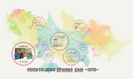 ORIENTALISMO -1978-