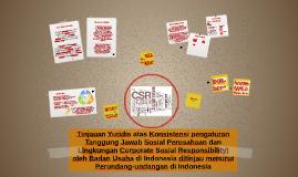 Tanggung Jawab Sosial dan Lingkungan Perusahaan (Corporate S