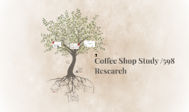 Coffee shop /598 Research