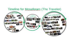 Timeline of Mosaferam (The Traveler)