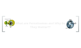 Copy of What are Peroxisomes, and Why Do They Matter??