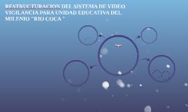 RESTRUCTURACION DEL SISTEMA DE VIDEO VIGILANCIA PARA UNIDAD
