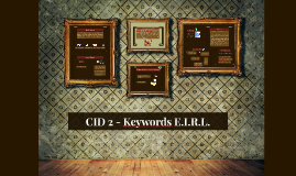 CID 2 - Keywords Comunicación corporativa E.I.R.L.