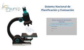Sistema Nacional de Evaluación: Un análisis normativo y func