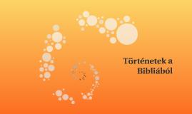Történetek a Bibliából