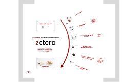 Zotero (Guia dos SBD da Faculdade de Letras da UC)