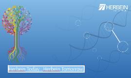 Herbein Today...Herbein Tomorrow.