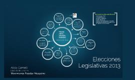 Elecciones Legislativas 2013 (PASO)