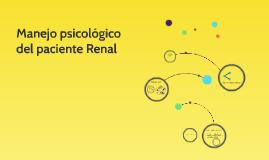 Manejo Psicologico del paciente renal