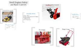 Small Engines Safety
