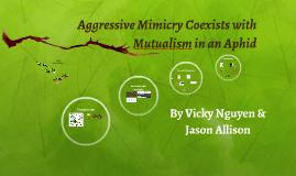 Agressive Mimicry